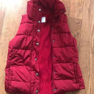 Small old navy vest